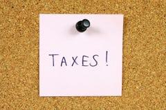 Impôts photos stock