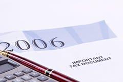 Impôts Image libre de droits