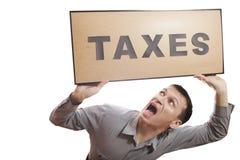 Impôts. Photographie stock libre de droits