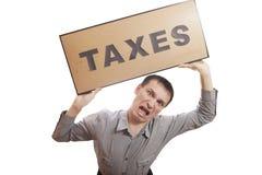 Impôts. Photos libres de droits