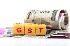 Impôts de Gst Image libre de droits