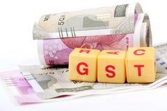Impôts de Gst Photo stock