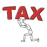 impôt Photo stock