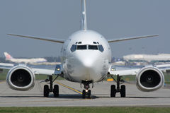 Impôt de l'avion Photos stock