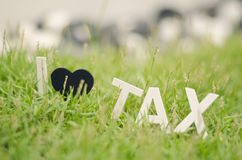 Impôt en bois blanc d'amour de l'alphabet i de regard d'image de plan rapproché mou de concept Images stock