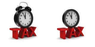 Impôt Image libre de droits