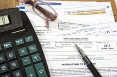 Impôts Photos libres de droits