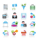 Impôts, affaires et graphismes de finances Photos stock