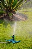 Impact garden sprinkler, Spain. Royalty Free Stock Photos