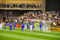 Impact Montreal vs Galaxy Los Angeles Royalty Free Stock Image
