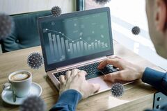 Free Impact Of Coronavirus On Stock Markets Concept On Laptop Computer Stock Photo - 177924500