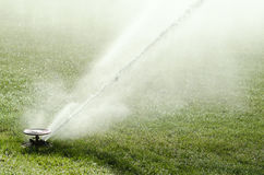 Impact sprinkler in action Royalty Free Stock Image