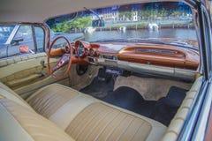 Impala 1960, ταμπλό Chevrolet Στοκ Εικόνες