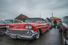 impala chevrolet του 1958 μετατρέψιμο Στοκ φωτογραφίες με δικαίωμα ελεύθερης χρήσης