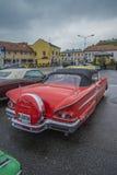 impala chevrolet του 1958 μετατρέψιμο Στοκ Εικόνα