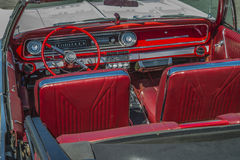 1965 impala chevy solides solubles convertible Photo libre de droits