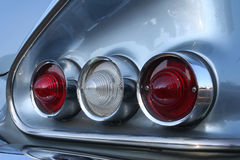 Impala Taillights. The taillights of the classic car Ford Falcon Royalty Free Stock Images