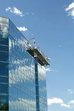 Impalcatura delle rondelle di finestra Fotografie Stock Libere da Diritti
