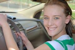 Imparando come guidare Immagini Stock