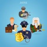 Imparcialidad y justicia Concept Foto de archivo libre de regalías