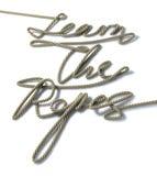 Impari la corda delle corde Fotografie Stock