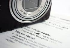 Impari la vostra macchina fotografica Immagine Stock