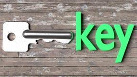 Impari una parola studiando il flashcard dell'immagine - una parola singola con un oggetto corrispondente da aiutare nello studio illustrazione vettoriale