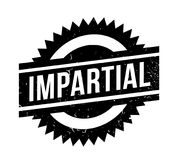 Impartial rubber stamp. Grunge design with dust scratches. Effects can be easily removed for a clean, crisp look. Color is easily changed vector illustration