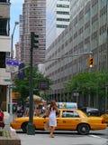 Impas na ruchliwych ulicach tak jak Park Avenue zdjęcia stock