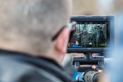 Impasse armée de milice - réserve de Malheur photographie stock libre de droits