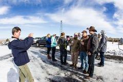 Impasse armée de milice - réserve de Malheur photo stock
