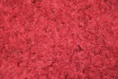 Impasto Red Background Texture Stock Image