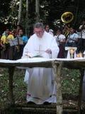 Impatto della religione su istruzione in povere vicinanze in Cuba Fotografia Stock
