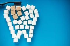 Impedire carie dentaria fotografie stock libere da diritti