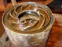 Impeller Zanurzalna Nafciana pompa Paddles pompa Zdjęcie Royalty Free