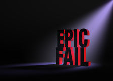 An Impending Epic Fail Stock Photography