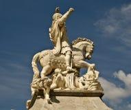 Imperador Charles VII Foto de Stock Royalty Free
