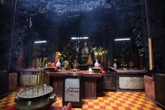 Imperador Jade Pagoda, Ho Chi Minh City, Vietname fotografia de stock royalty free