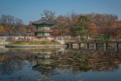 Imperator palace. Lake in imperator palace in seoul Royalty Free Stock Photography