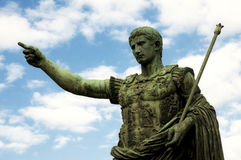 Imperatore Caesar Augustus fotografie stock libere da diritti