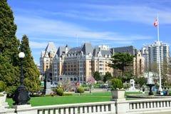 Imperatorowa hotel przez od parlamentu gazonu Obraz Royalty Free