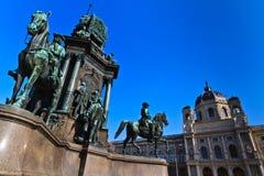 imperatorowej Maria pomnikowy theresia Vienna Obraz Royalty Free