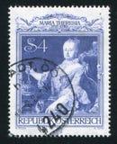 Imperatorowej Maria Theresia portret Martin Samochód dostawczy Meytens Fotografia Stock