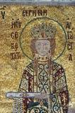 Imperatrice Irene, Hagia Sofia a Costantinopoli Fotografie Stock Libere da Diritti