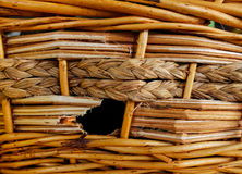 The Imperfect Basket Royalty Free Stock Images