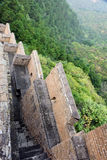 imperfect eastern Jinshanling Great Wall Stock Photo