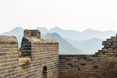 imperfect eastern Jinshanling Great Wall Stock Image