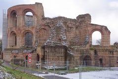 Imperiałów skąpania - ruiny antyczni skąpania Obraz Royalty Free