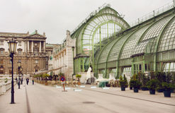 Imperiału motyla domu ogrodowa struktura budująca w sztuki Nouveau stylu (Schmetterlinghaus) Fotografia Royalty Free