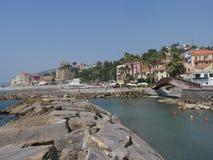 Imperia - Borgo Foce Royalty Free Stock Photo